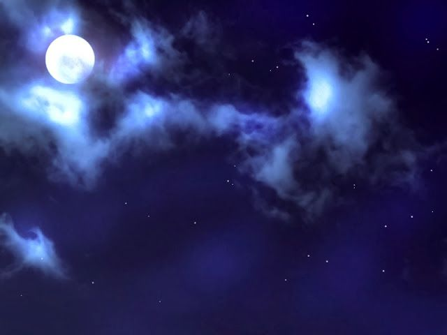 Anime Landscape Sky At Night With A Full Moon Anime Background Anime Background Night Scenery Anime Scenery Wallpaper