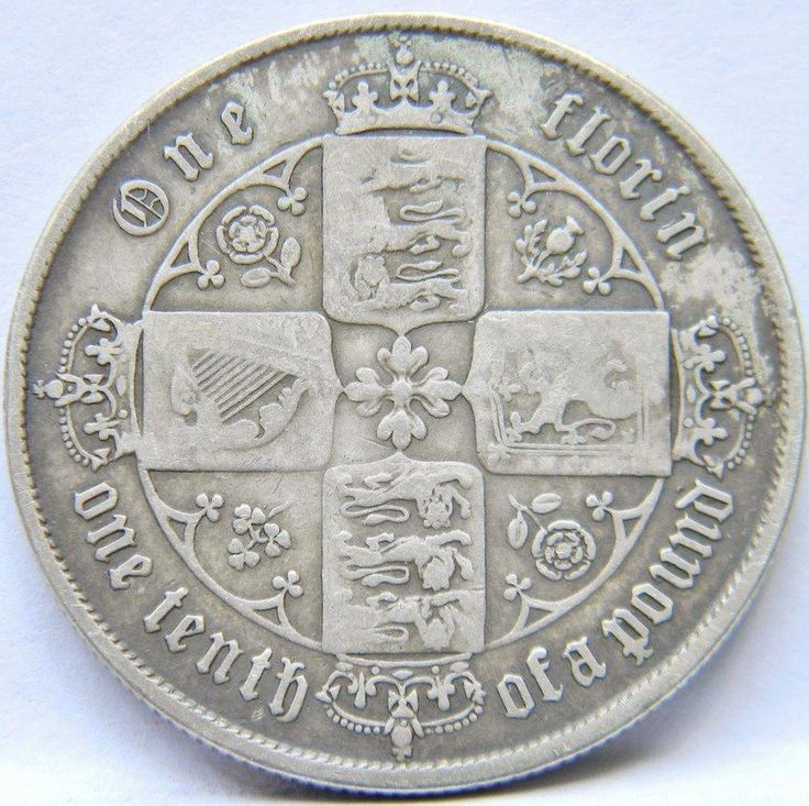 "GREAT BRITAIN, Victoria: 1859 silver ""Gothic"" Florin/2 Shillings; toned VF …http://high-class-last-minute-offer.newoffers.info/buy/01/?query=401000153380 …"