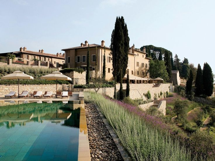 Castiglion del Bosco was voted one of the best resorts in Europe by our readers, and no wonder: the 5,000-acre estate, on a hilltop overlooking Brunello wine country, is home its own winery, a La Prairie spa, and the only golf course in Italy set within a UNESCO World Heritage site. Owned by the Ferragamo family, it's also stylish to boot, with 23 rustic-chic suites, ten farmhouse-style villas, and a sleek infinity pool overlooking the vineyards. As if all that weren't enough reason to…