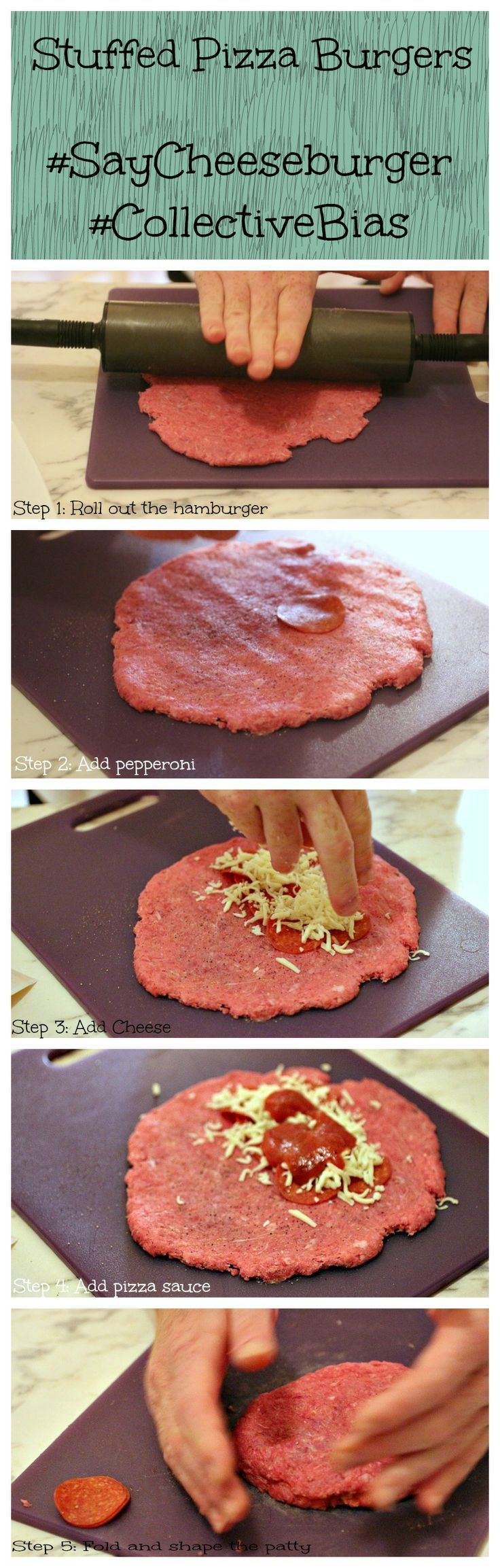 Easy recipe for making delicious stuffed pizza burgers on the grill. Learn how to make stuffed pizza burgers today!