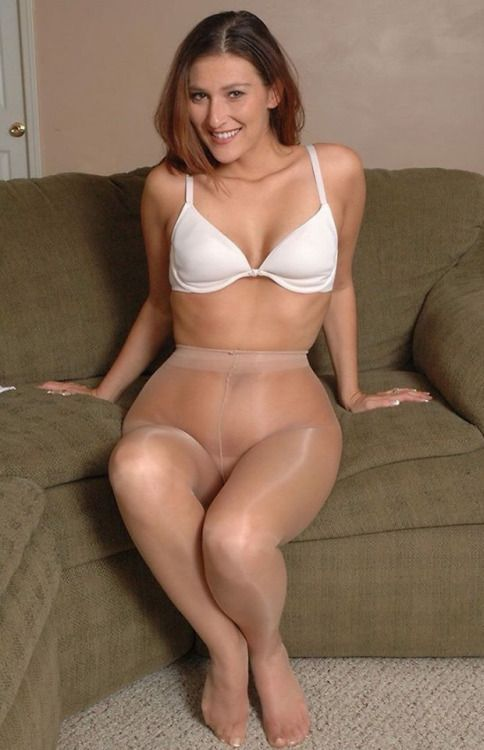 Wearing Pantyhose And Sexy 26