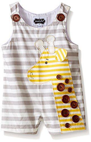 Mud Pie Baby Giraffe Romper, Multi, 12-18 Months Mud Pie http://www.amazon.com/dp/B019NOCMZ4/ref=cm_sw_r_pi_dp_F3lZwb1TDG2J9
