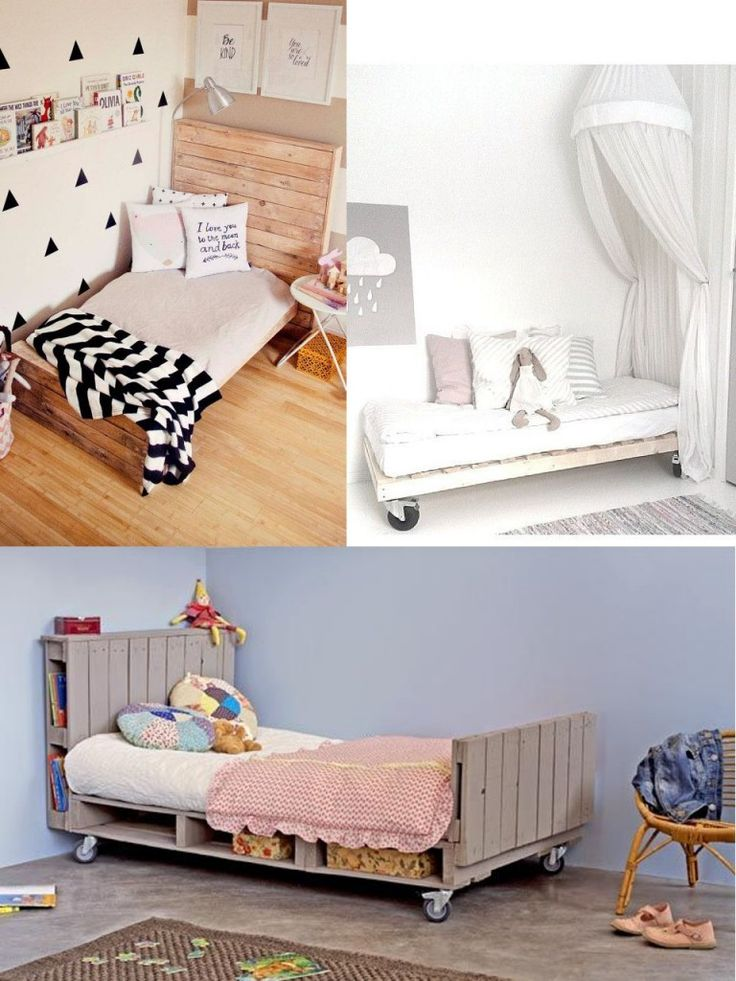 M s de 25 ideas incre bles sobre camas hechas con palets - Camas de palets ...