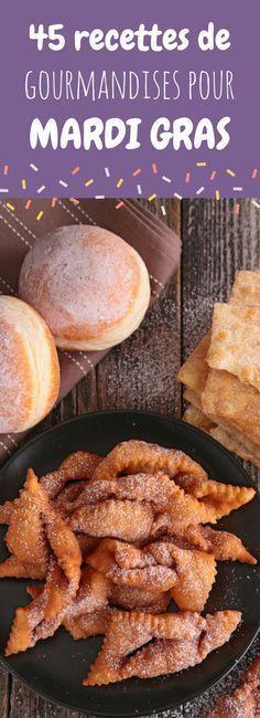 Bugnes, gaufres, beignets, churros : 45 recettes faciles de gourmandises sucrées pour le carnaval de Mardi Gras !