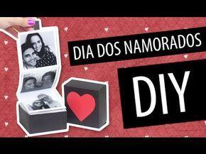 DIY Dia dos Namorados: Caixinha com Fotos » Passando Blush