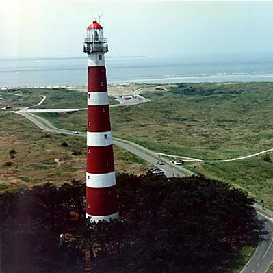 Lighthouse, Ameland.  Netherlands