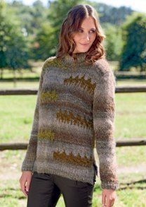 Jumper in Bergere de France Cyclone - 42734
