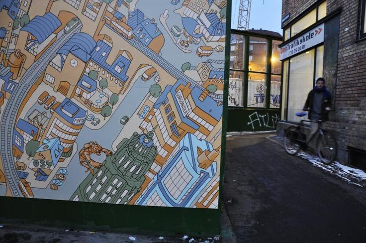 Detail from Cheesetown mural.