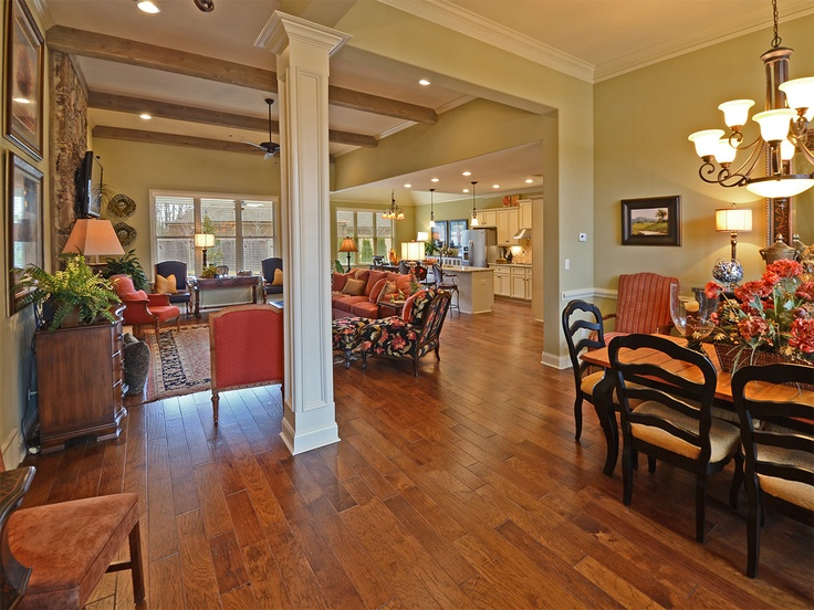 Magnoliahomes southernliving memphis dreamhome for Classic home designs collierville tn