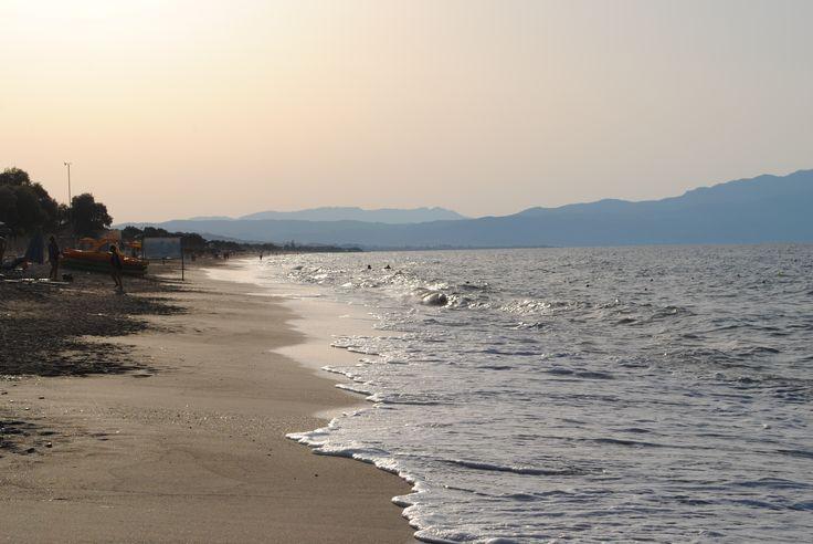 Magic hour on the beach