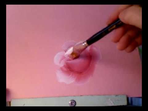 How to Paint Roses Video Tutorial