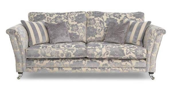 Hogarth Floral 4 Seater Sofa Hogarth Floral | DFS