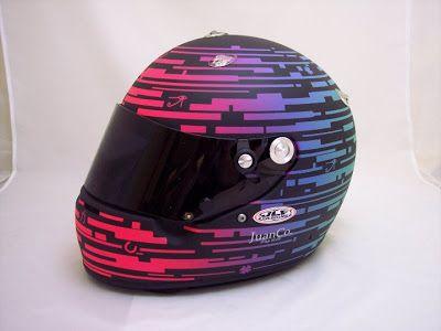 Racing Helmets Garage: Arai EJ Viso by JLF Designs