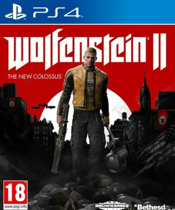 October 27 2017- PC!!!! Wolfenstein 2 - the new colossus SEMI-HIGH