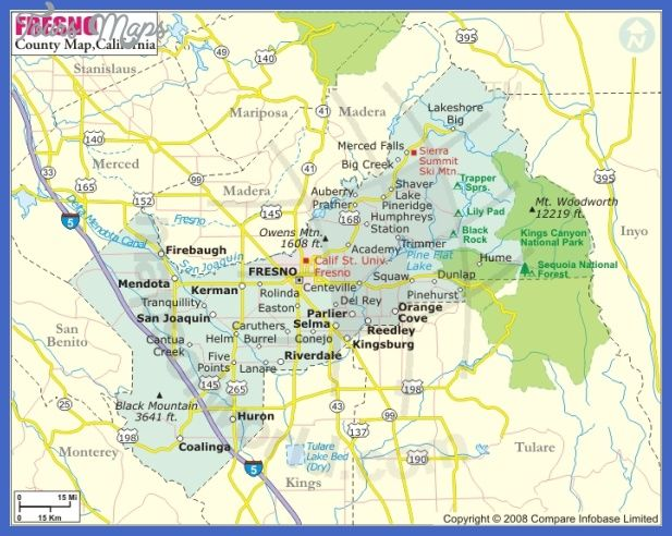 Map Of County Islands In Fresno Ca