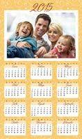 Calendarios 2015 personalizados con tu foto para imprimir en casa gratis, Almanaques de escritorio, Calendarios de cumpleaños, Calendarios de Adviento - CorreoMagico.com