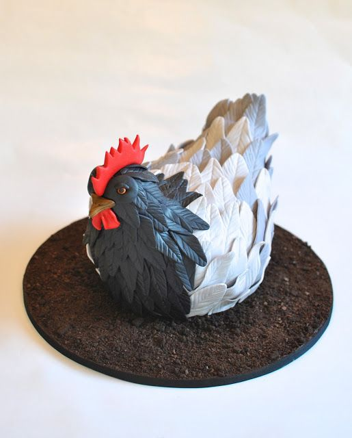 Rooster Cake, Hope's Sweet Cakes
