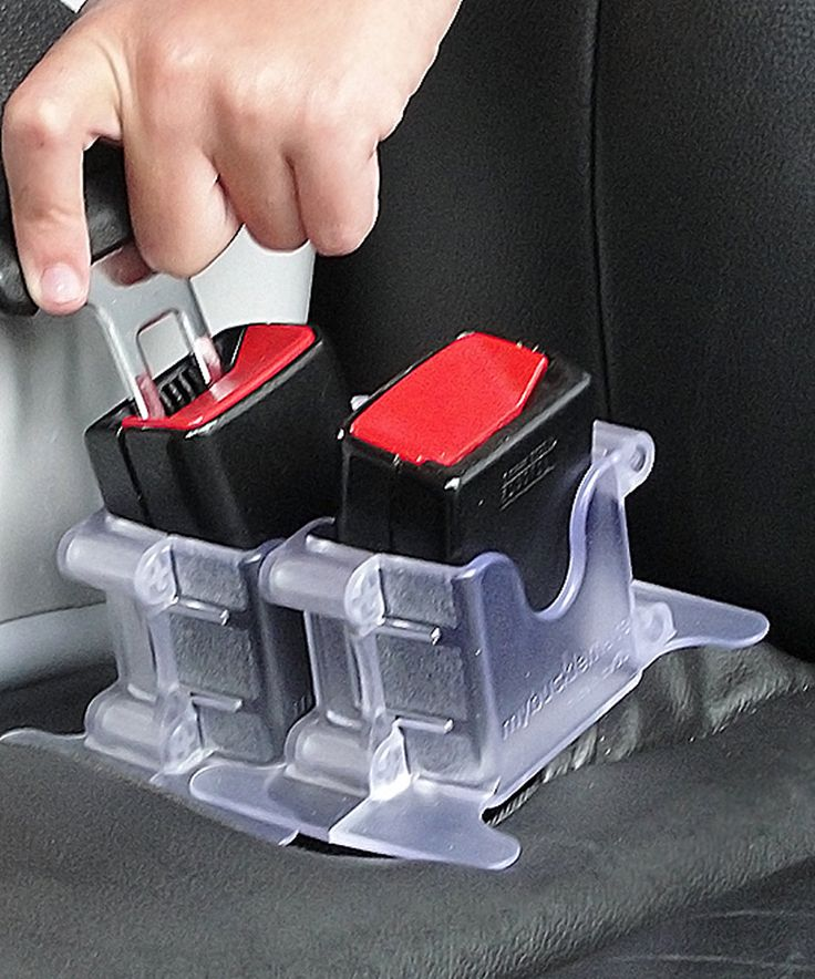 Take a look at this MyBuckleMate Clear Seat Belt Buckle Holder - Set of Two today!