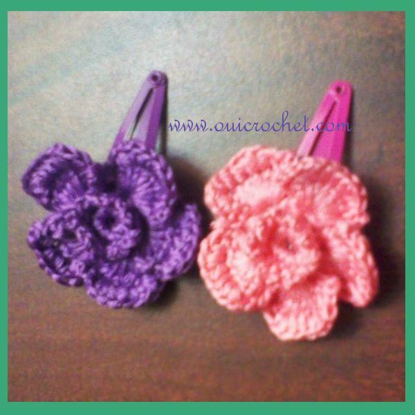... crochet flower on Pinterest Apple blossoms, Crochet flower tutorial
