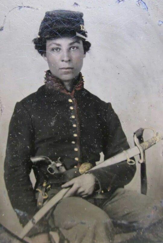 African American Union Cavalryman                                                                                                                                                                                 More