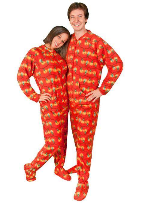 Couples #Pajamas: Christmas Tree Lights | Matching Pajamas ...