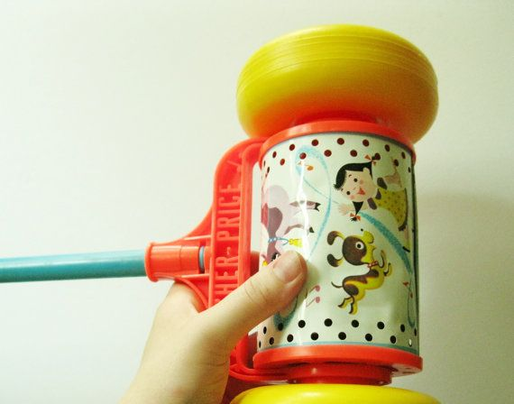 Fisher Price toy - I love vintage Fisher Price!!!