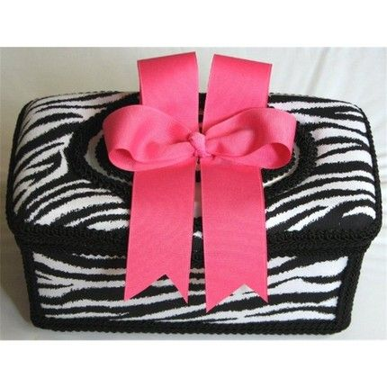 zebra print baby nurseries | Boutique Baby Wipe Nursery Tub in Black and White Zebra Print, Hot ...