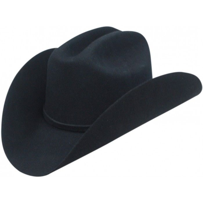 d45d345b1a8 Adult Top Champ 4X Black Wool Cattleman Cowboy Hat