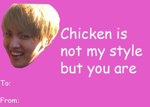 Kpop Valentine S Cards Google Search K Pop Boys Pinterest