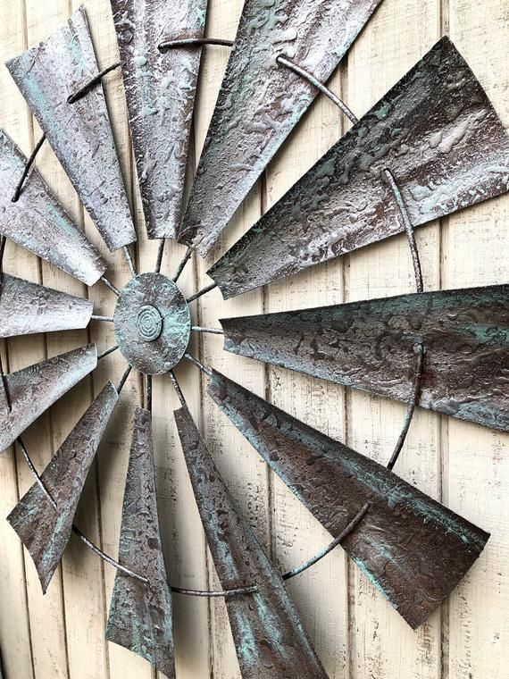 Metal Wall Decor Windmill Wall Art Metal Windmill Farmhouse Wall Decor Farm House Decor Rustic Home Decor Rustic Wall Decor Windmill Metal Windmill House Decor Rustic Farmhouse Wall Decor