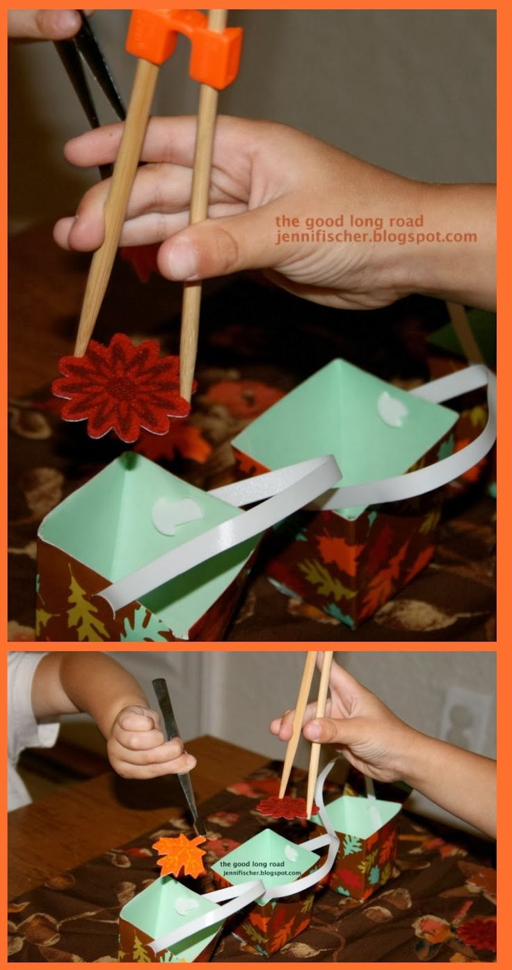 Fall Leaf Transferring + Fall Activities from The Kid's Co-Op #kidscoop #kbn