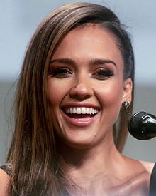 Jessica Marie Alba-- (born April 28, 1981) is an American actress, model and businesswoman. She has won various awards for her acting, including the Choice Actress Teen Choice Award and Saturn Award for Best Actress on Television, and a Golden Globe nomination for her lead role in the television series Dark Angel.