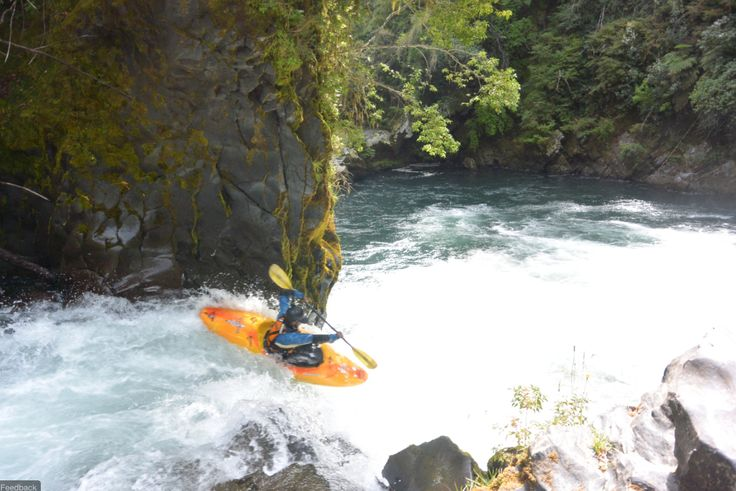 Cornelius Peeler, Pucon, Chile. Sometimes the only way out is down river. Therefore I GoLite.