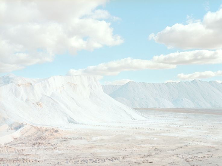 A Beautiful Salt Refinery That Looks Like Another Planet