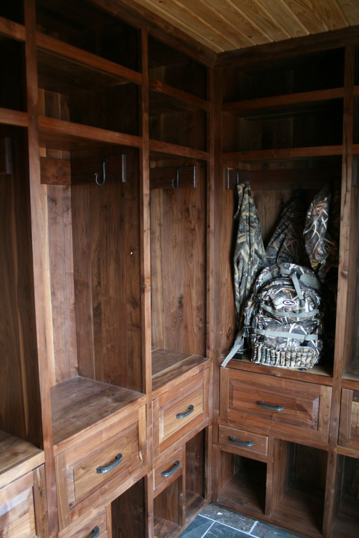 Duck Hunting Custom Cabinets Wood Lockers Duck