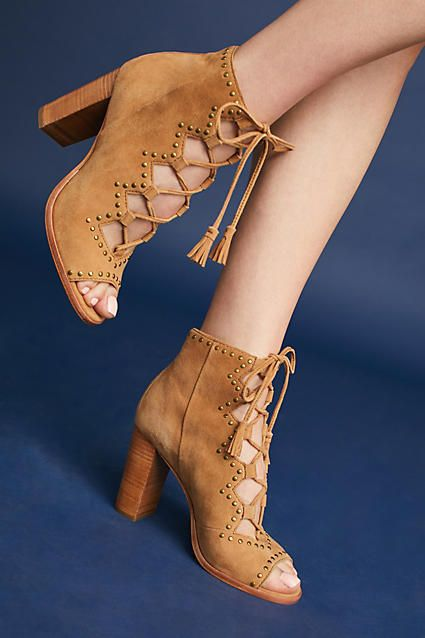Frye Gabby Ghillie Studded Shooties