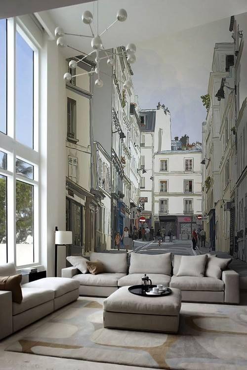 Ma non vi sembra meravigliosa questa decorazione a parete??? The Black Workshop: Photo