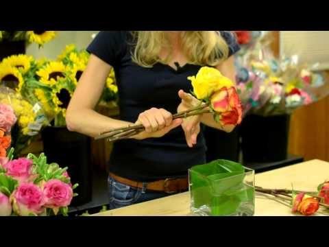 Hand Tied Roses tutorial by sarah von pollaro