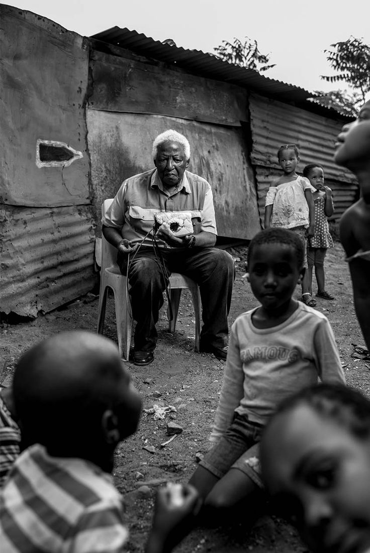 Peter Magubane 'A Thousand Words' by Adrian Steirn