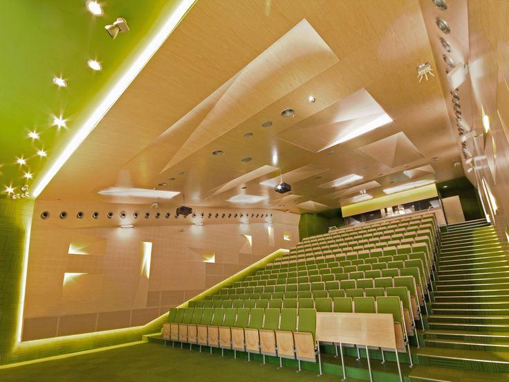 Auditoriums at Silesian University of Technology in Gliwice, Poland. Zalewski Architecture Group