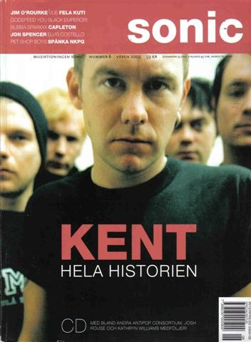 The history of Kent in Sonic nr 6 2002