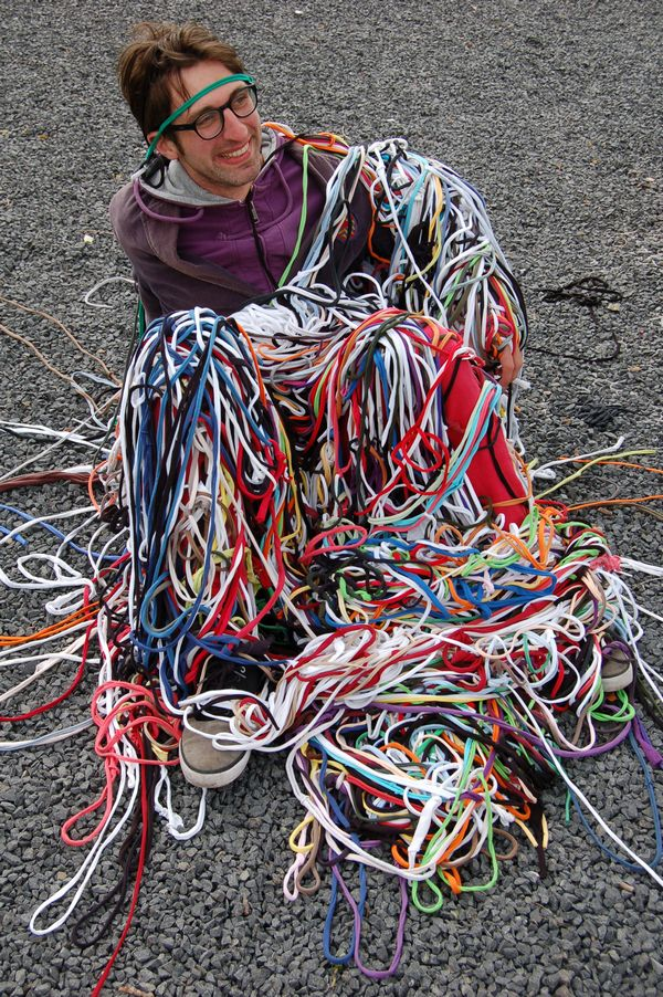 Action Weaving at Museon | Visual Art Research