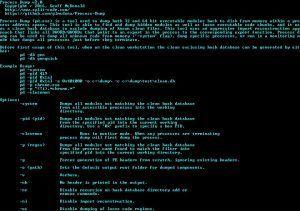 Process-Dump v2 0 ~ Windows tool for dumping malware PE files from