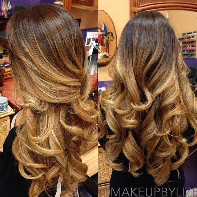 Beautiful curls - love the color as well