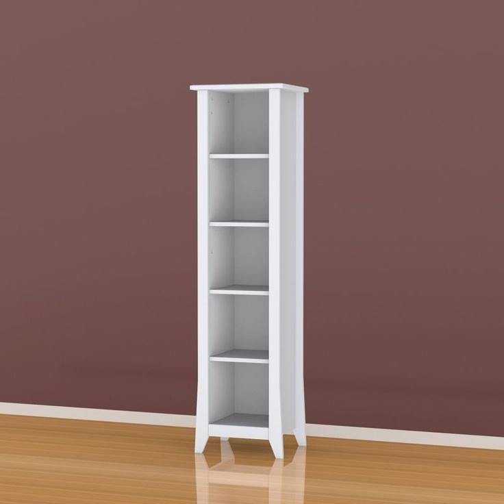 Nexera Furniture Vice Versa Slim Bookcase