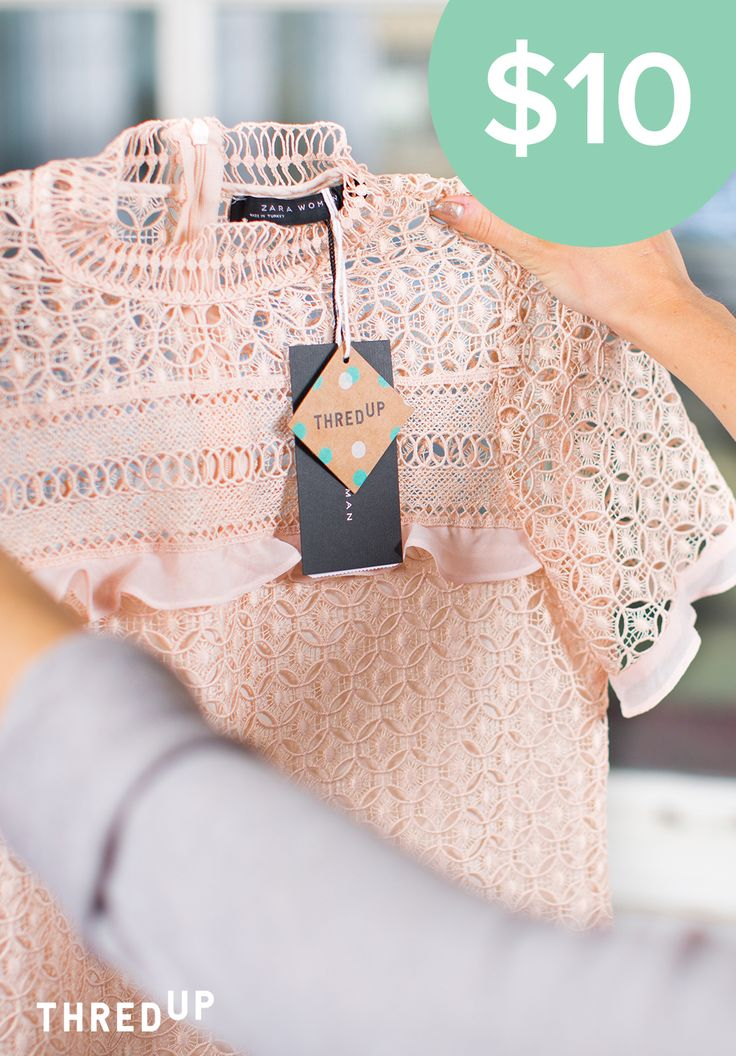 """Thrifty isn't cheap, it's smart. If you're trying to get a good value, secondhand is where it's at."" – Robin L., thrifty shopper. The next generation of secondhand is here. Log in at thredUP.com to shop today."