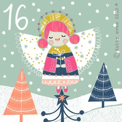 dottywrenstudio: advent calendar....day 16