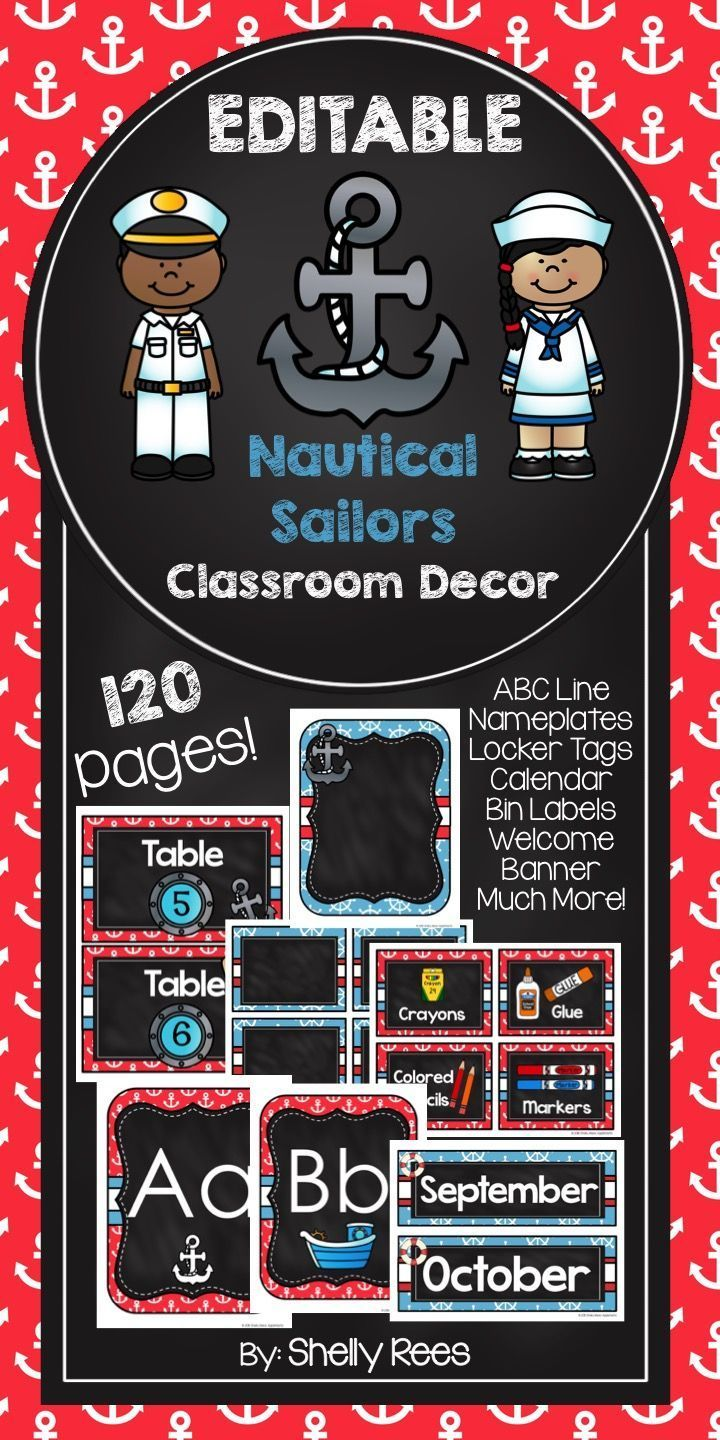 Editable Classroom Decor ~ Images about back to school on tpt pinterest