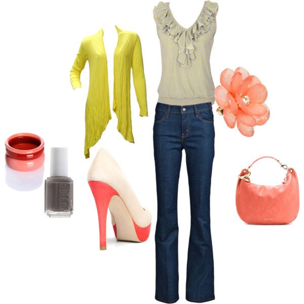 pops of spring!: Fashion Ensemblesoutfit