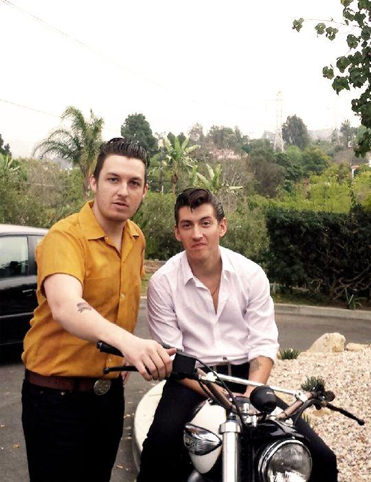 Alex Turner & Matt Helders | Arctic Monkeys